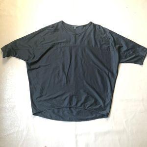 COS Black Dolman Sleeves Top SZ S
